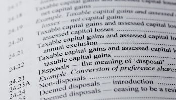 Capital Gains Tax – 2018/19 Tax Year End
